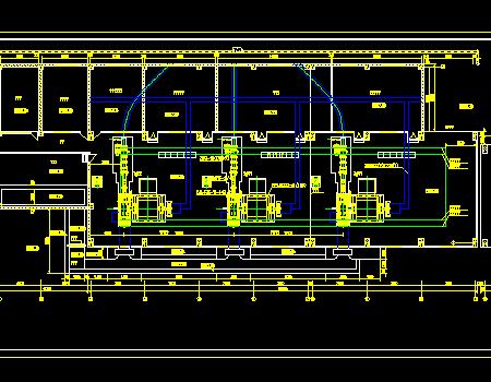 径流引水式电站厂房工程施工图