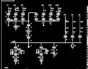 水电站工程电气主接线图