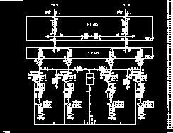 水电站电气主接线图