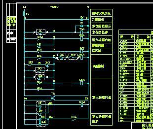 3消防电器电气控制原理图