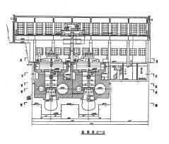 三等中型水电站水利施工图纸