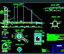 某中型水电站引水隧洞工程施工图纸