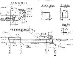 某一级水电站水利施工图纸