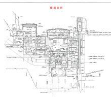 大型水电枢纽水利设计图纸