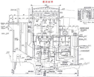 三级水电站工程水利设计图纸