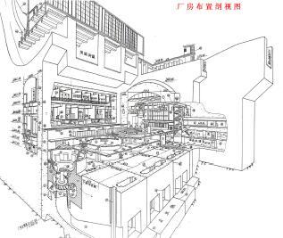 大型水电站厂房工程施工图纸