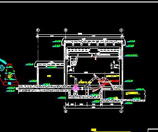 引水式电站厂房工程施工图纸2