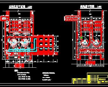 水电站枢纽工程厂房施工图纸