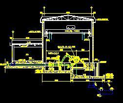 径流引水式电站厂房施工图纸