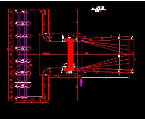 水电站引水系统结构设计图