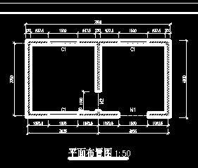 小型水库除险加固工程管理用房施工图