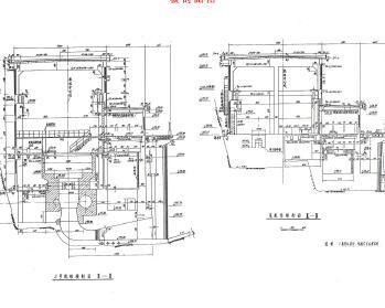 某大型综合水电站施工图纸(PDF)