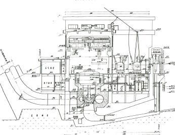某坝式水电站水利施工图纸(PDF)