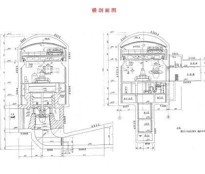 某综合性水电站施工图纸(pdf)
