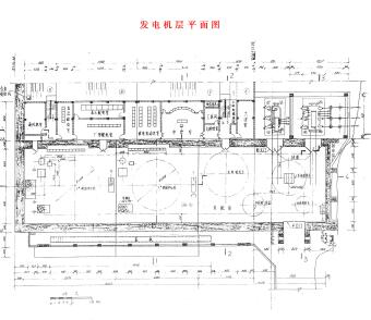 某第一级水电站施工图纸(pdf)