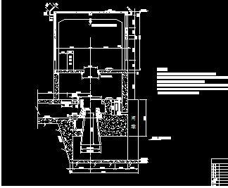 中小型引水式径流水电站施工图纸