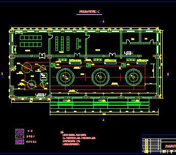 水电站厂房结构设计图纸
