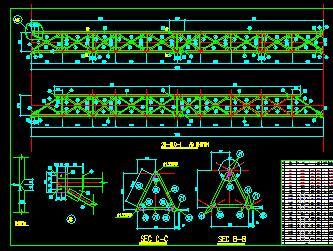 某水电站钢结构构件节点详图