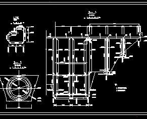 电站尾水出口结构设计详图