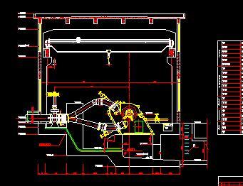 水电站厂房电气设备设计图纸