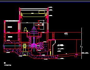 水电站厂房设计图纸
