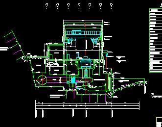 某10MW水电站厂房施工图纸