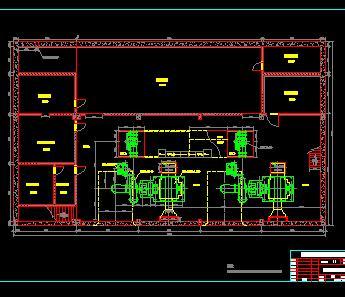 某水电站厂房设计图纸