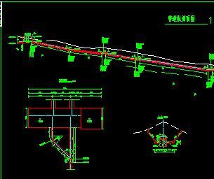 水电站压力钢管构造设计图纸