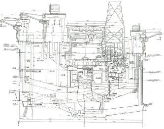 大型水电站厂房设计图纸(pdf)