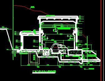 高水头水电站厂房设计图纸