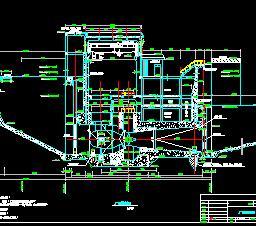 低水头电站厂房构造施工图纸
