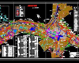 水电站工程施工总布置图