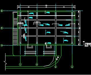 某水电站厂房水工建筑施工图纸
