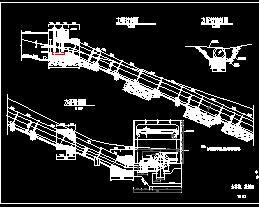 某综合水电站全套设计图纸(两套方案)