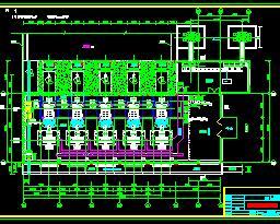某大型水电站厂房全套施工图纸