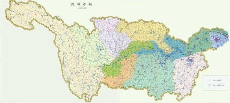 长江流域水系图 - shufubisheng - 修心练身的博客