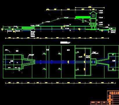 水闸设计图免费下载-引调水工程建筑设计v水闸多少设计费图片