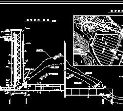 放水塔配筋设计图纸