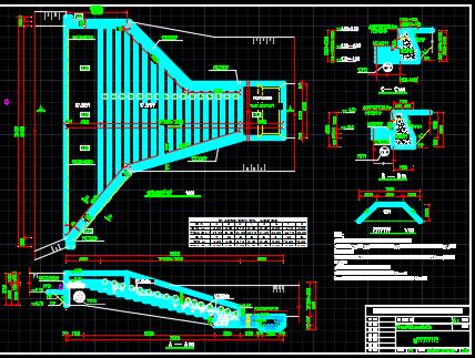 溪水陂设计图纸