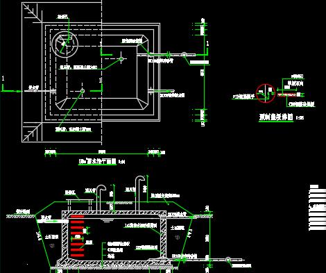 70方蓄水池设计详图