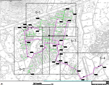 乡镇供水工程施工图