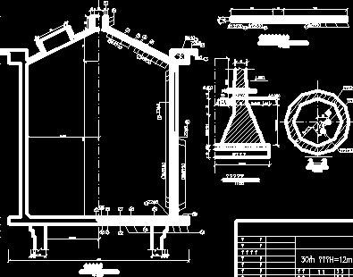 水塔设计图纸