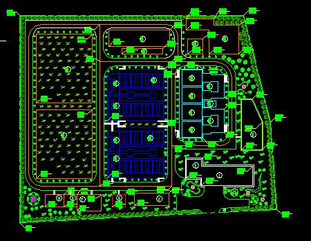 20万吨自来水厂工艺图纸设计(附设计方案)