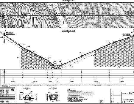 灌溉工程倒虹管结构设计图