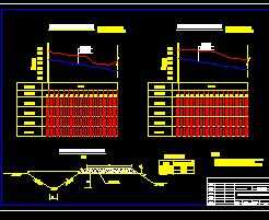 农田水利灌溉排水横断面设计图纸免费下载-节上图标在图纸的桌面图片