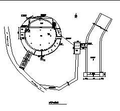 某县西郊供水水库工程设计图纸