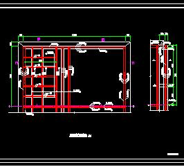 混凝沉淀池结构施工图纸