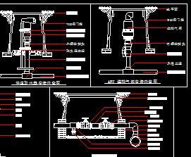 某喷灌工程设计图纸