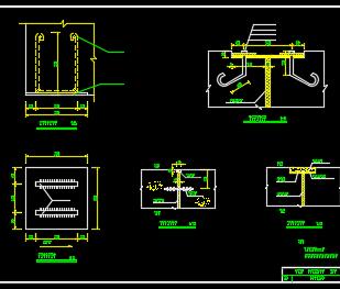 渡槽细部结构详图