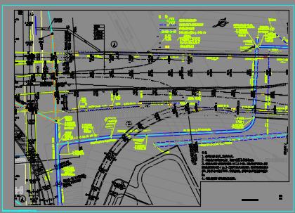 某通道给排水工程施工图纸